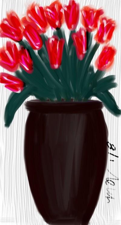 tulips & roses | mich | Digital Drawing | PENUP