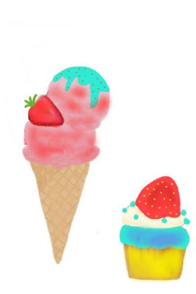 icecream  | srijani | Digital Drawing | PENUP
