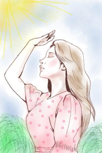 a sunny day ♡♡♡ | Sylvia | Digital Drawing | PENUP
