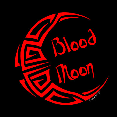 Blood Moon - Moon Challenge | Dwight | Digital Drawing | PENUP