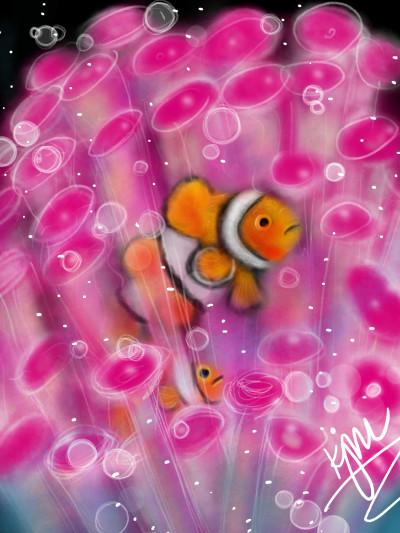 let's draw fish  | kitt | Digital Drawing | PENUP