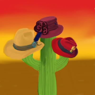 Cactus Hat Tree | Charldia | Digital Drawing | PENUP