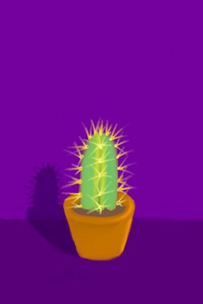 Happy Little Succulent♡ | .-.-.A.L.B.-.-. | Digital Drawing | PENUP