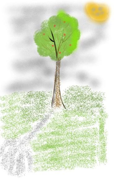 Plant Digital Drawing | hello | PENUP
