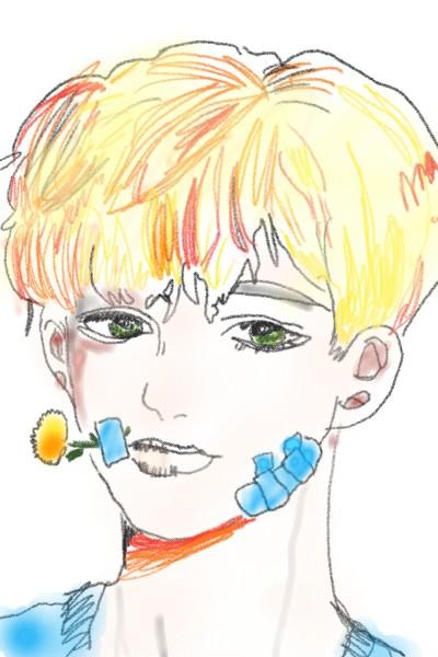 민들레 의인화    zzzzz2_ENFP   Digital Drawing   PENUP