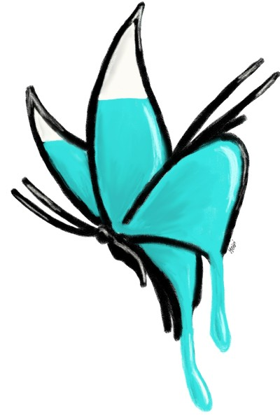 Butterfly   Blaumeise05   Digital Drawing   PENUP