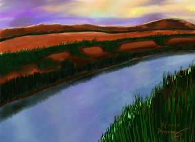 Marshes | Ria1 | Digital Drawing | PENUP