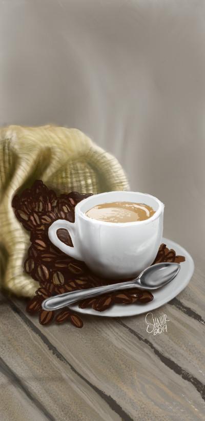 coffee | shahir | Digital Drawing | PENUP