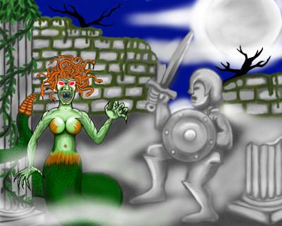 Medusa's Lair | Terry627 | Digital Drawing | PENUP