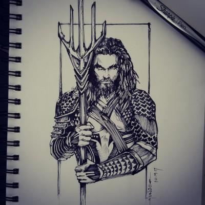 Aquaman | Hunger_art | Digital Drawing | PENUP