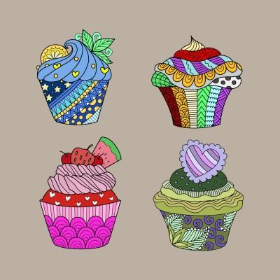 cupcakes | bellah | Digital Drawing | PENUP