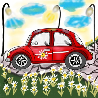 let's go for a ride! | Daisy-C.K.W. | Digital Drawing | PENUP
