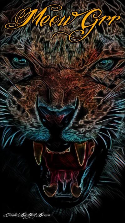 Meow Grr | Herbbrown1965 | Digital Drawing | PENUP