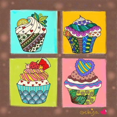 long-cherished ice cream♡ | ockja | Digital Drawing | PENUP