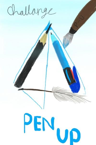 penuo stationary challenge 펜업  | DaEun | Digital Drawing | PENUP