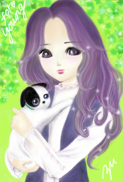 Thank you friend ♥ for young | azu | Digital Drawing | PENUP