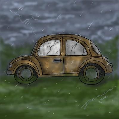 Old And Rusty | James_Maynard | Digital Drawing | PENUP