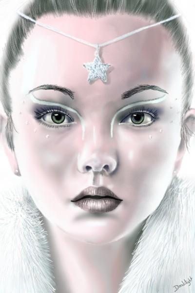 Ange/paix/blanc | Doodilight | Digital Drawing | PENUP