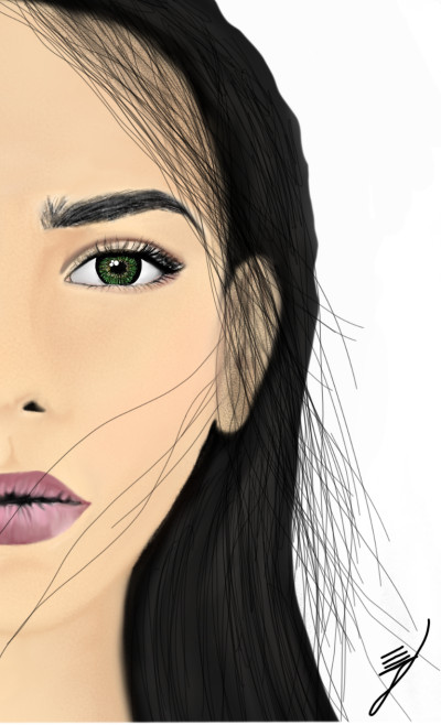 girl  | Elmira | Digital Drawing | PENUP