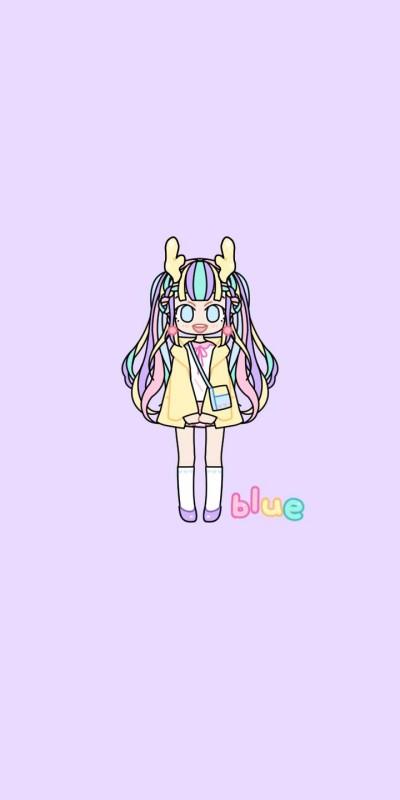blue 이벤트 캐릭터 | Hayeon | Digital Drawing | PENUP
