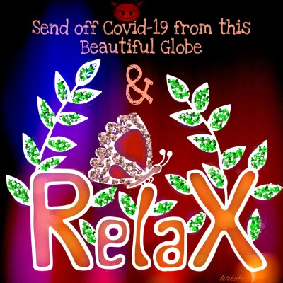 Send off to Covid-19 ♡ Relax | krish | Digital Drawing | PENUP