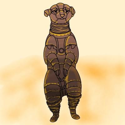 로봇 미어캣 | Joy | Digital Drawing | PENUP