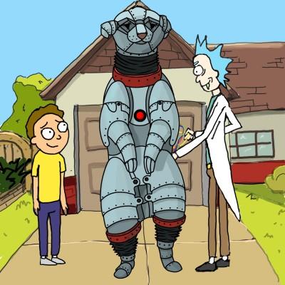 Rick and Morty  | Mishanya | Digital Drawing | PENUP