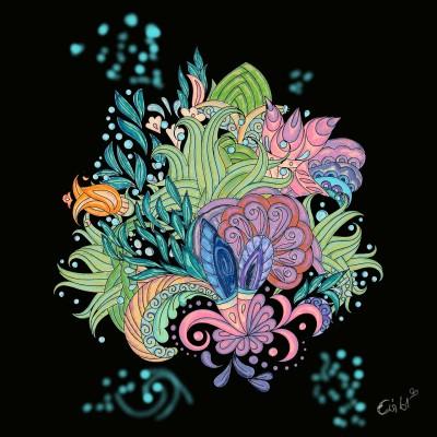 flowerpower 3 | evi61 | Digital Drawing | PENUP