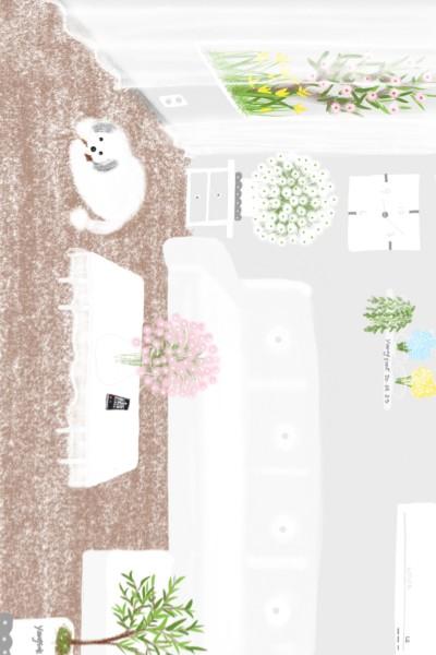 13.봄이 혼 집보는중 Bom is guarding the house alone. | youngsook | Digital Drawing | PENUP