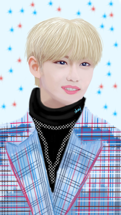 MY DEAR FRIEND ROH♡♡ #STRAY KIDS (FELIX) | -aksoy- | Digital Drawing | PENUP