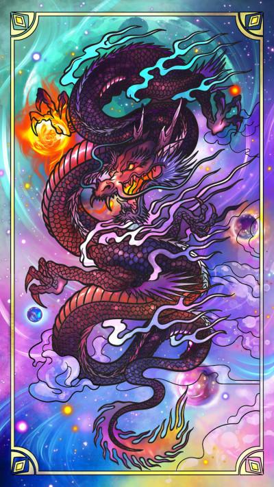 ドラゴン | Gaycouple | Digital Drawing | PENUP