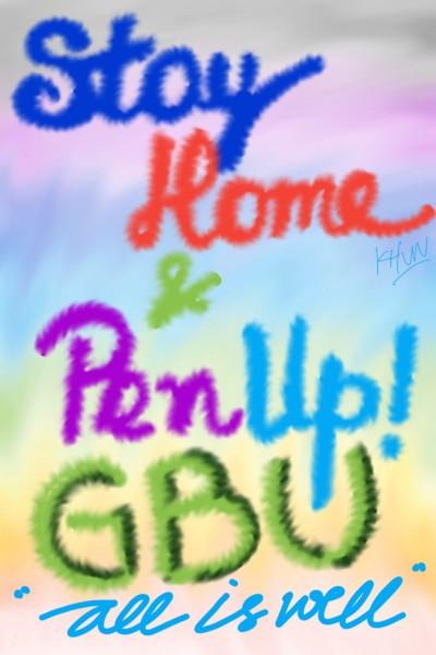 Stay Home | KhunDjaja | Digital Drawing | PENUP