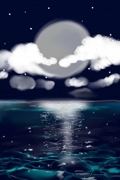 moon   val   Digital Drawing   PENUP