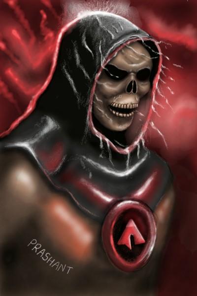 Skeleton man!!  | Prashant | Digital Drawing | PENUP