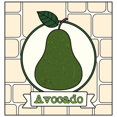 Avocado  | Trish | Digital Drawing | PENUP