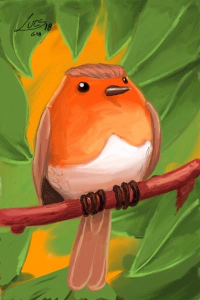 Robin  | Lucs | Digital Drawing | PENUP
