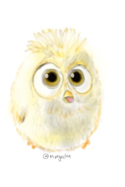 cute yellow birdy | Elizabeth | Digital Drawing | PENUP