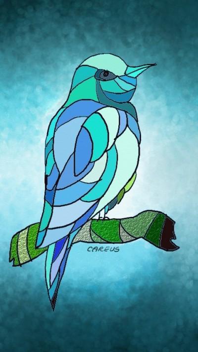 Let's just draw bird   CAREUS   Digital Drawing   PENUP