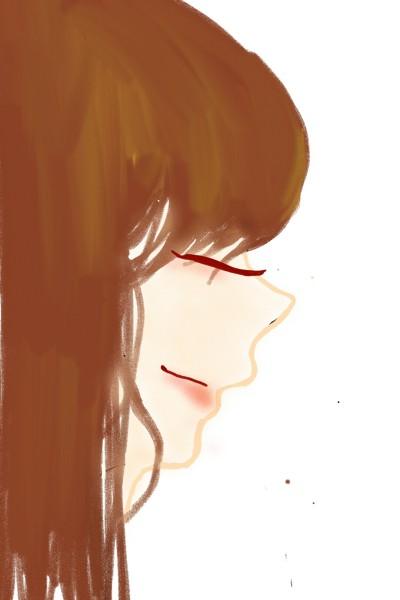 웃는여자(yun) | suyun | Digital Drawing | PENUP