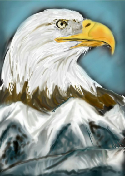 eagle | EvaGal | Digital Drawing | PENUP
