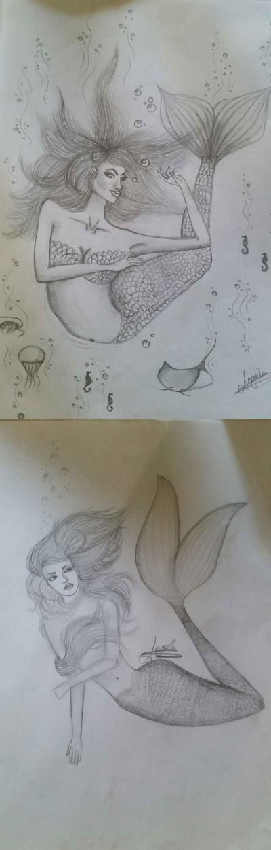mermaids. | AngelaPezzotti | Digital Drawing | PENUP