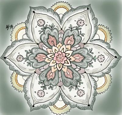 Mandala   AHY   Digital Drawing   PENUP