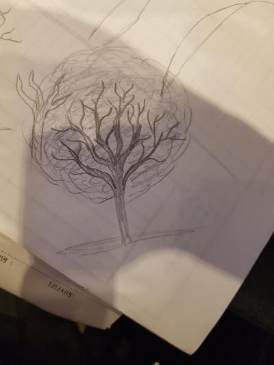 나무..요번에 잘그렸다 | KimHo | Digital Drawing | PENUP
