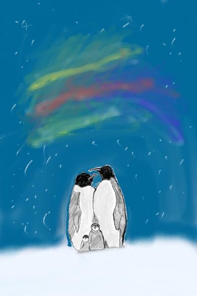 Family Penguins  | Maria | Digital Drawing | PENUP