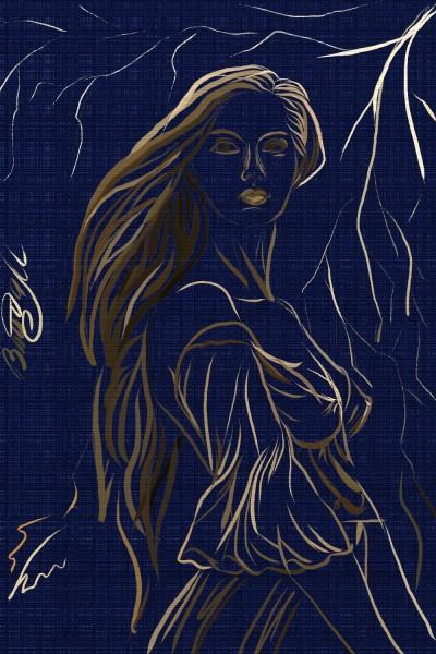 дева | VladaM | Digital Drawing | PENUP