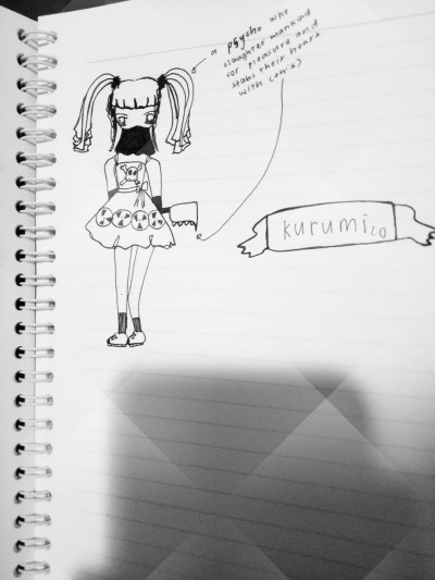 innocent... but...behind the mask???  | yerim | Digital Drawing | PENUP