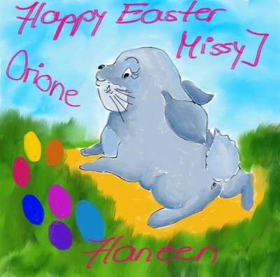 Happy Easter MissyJ, Haneen, Orione♡♡♡♡♡   sherlock   Digital Drawing   PENUP