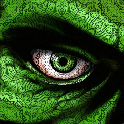 Hulk Eye!!   Prashant   Digital Drawing   PENUP