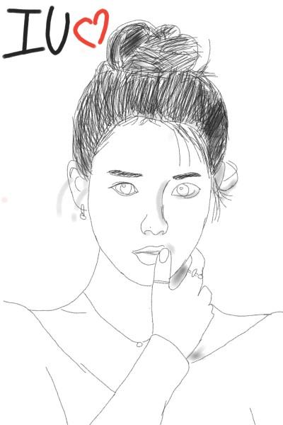 IU♡ | jajaja. | Digital Drawing | PENUP