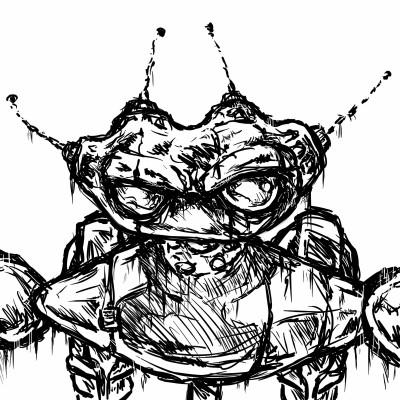 progression of a glitched out casebot    casebasket   Digital Drawing   PENUP